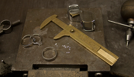 smyckesmedens verktyg